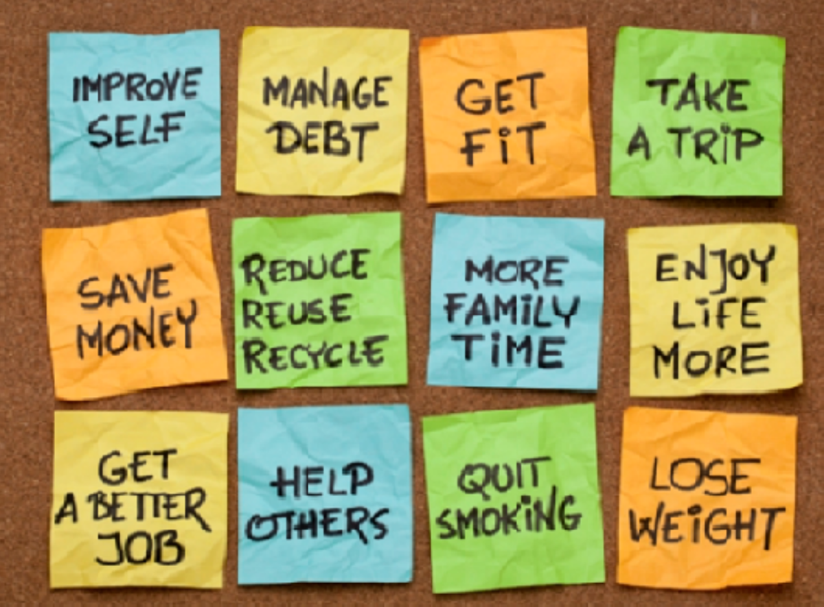 It's Time for New Year's Resolutions!