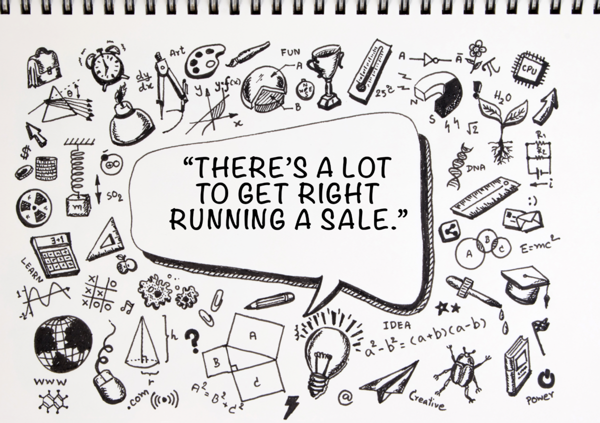 The Art, Science, and Mathematics of a Major Sale Event